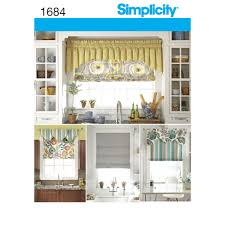 Sewing Patterns Home Decor Pattern For Roman Shades And Valances Simplicity
