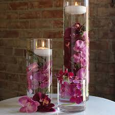 Tall Glass Vase Centerpiece Ideas Wedding Centerpieces Glass Cylinders