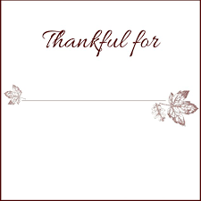 thanksgiving place card templates 28 images free thanksgiving