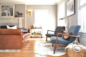 How To Decorate Living Room With Brown Leather Furniture Rosa Beltran Design Colonial House Tour Finale The Living Room