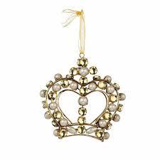 5 jeweled crown ornaments 6pk walmart