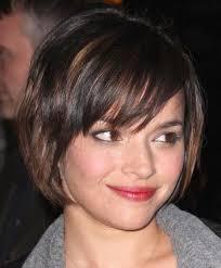 short hair with bangs and layers short layered haircuts with bangs