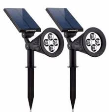 best solar flood lights solar lights urpower 2 in 1 waterproof 4 led solar spotlight
