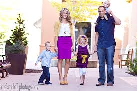 family picture clothes by color series purple capturing with