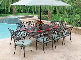 cast aluminum dining table cast aluminum patio dining table kgmcharters com