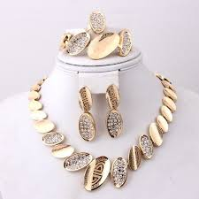 african jewelry necklace set images 2018 african fashion women costume necklace jewelry sets dubai 18k jpg