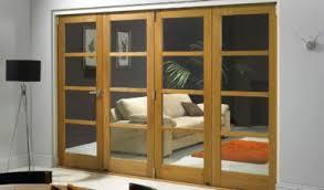 Interior Bifold Doors With Glass Inserts Inspire Range Bifolding Room Divider Doors â Vufold