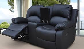 glamorous 2 seater reclining leather sofa memsaheb net in two seat