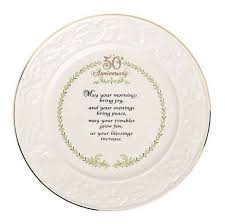 anniversary plates plates trays dishes belleek 50th anniversary plate