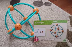 learn 2d and 3d shapes dive into shapes a building geometry set from learning resources