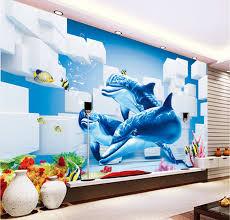 dolphin home decor 93 dolphin home decor 3d room wallpaper custom photo mural