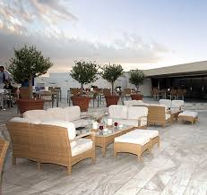 Plantation Seating At The Hotel President Athens Greece Image - Plantation patio furniture