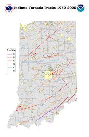 Illinois Tornado Map by Tornado Map Indiana Indiana Map