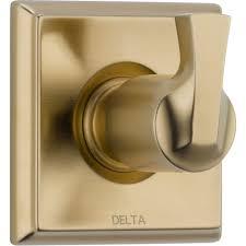 delta linden 1 handle 3 function shower diverter valve trim kit in