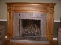 oak fireplace mantels on a budget contemporary in oak fireplace