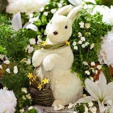 Easter Decorations Rabbits by 14