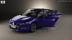 2014 Nissan Maxima Interior 360 View Of Nissan Maxima With Hq Interior 2016 3d Model Hum3d Store