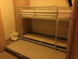 Triple Bunk Bed  Ikea Bunk Beds With Trundle Pull Out Bed In - Ikea triple bunk bed