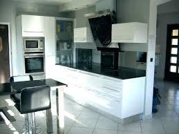 cuisine équipée blanc laqué cuisine blanc laque pas cher impressionnant cuisine equipee blanc