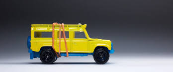 land rover defender 90 yellow the matchbox land rover defender 110 goes through its second