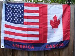 2x3 Flags Wholesale Lot Of 8 Usa Canada 2x3 Flags America Canadian American