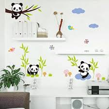 Wall Stickers For Kids Rooms by Panda Wall Stickers Panda Things
