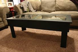 glass coffee tables appealing glass topped coffee table display