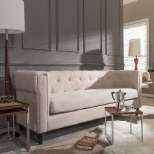 baxton studio beige 2 piece sofa set free shipping today