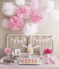 Birthday Decorations For Girls Country Home Baby 1st Birthday Birthday Ideas