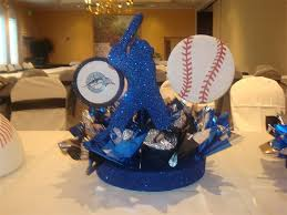 baseball centerpieces enchanted balloon party and event decors b mitzvahs