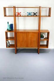 bookcase room dividers mid century room divider wall unit bookcase teak shelves retro