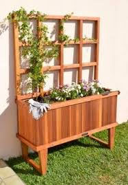 San Francisco Urban Garden - flower wine box supplied by san francisco urban garden redwood