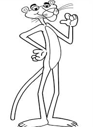 pink panther proud coloring pages bulk color