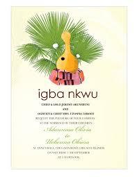 wedding invitations culture nigeria