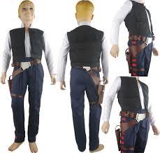 star wars han solo costume vest belt holster droid halloween
