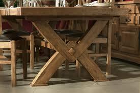 x leg dining table furniture chateau x leg solid oak dining table oak furniture uk