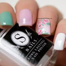 spring nail art my nail polish online