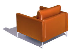 Orange Chair by Divina Standard Lounge Chair Hivemodern Com