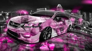 honda custom car honda accord jdm tuning anime aerography city car 2014 el tony