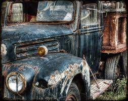 Ford Vintage Trucks - route 66 old truck photography relic abandoned truck photo