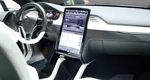 Tesla Interior Model S Potential First Look At The Model X U0027s Interior Looks More Like