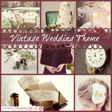 wedding modern vintage theme vintage chic themes archives