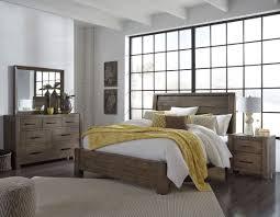 hops brown panel bedroom set from samuel lawrence coleman furniture