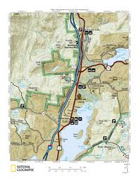 Topo Map Rowe U0027s Adirondack Cabins Of Schroon Lake Great For Fishing