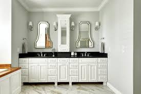 white bathroom vanity with dark countertop www islandbjj us