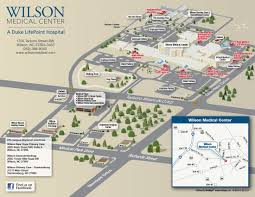 campus map wilson medical center campus map