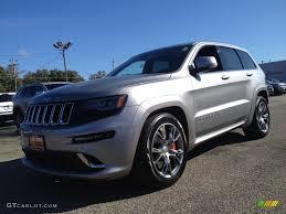 jeep srt 2014 2014 billet silver metallic jeep grand cherokee srt 4x4 98180762
