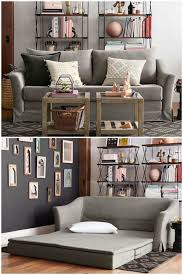 Sofa Hide A Bed by Furniture Ottoman For Grey Sofa Small Spaces Sectional Sofa
