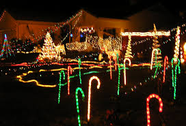 Christmas Decorations Outdoor Laser by Decorations Nice Christmas Yard Decor With Incredible Exterior