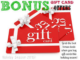 gift card offers gift card offers for 2015 benihana half price books bonefish